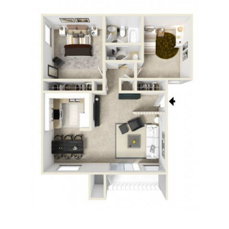 Floor Plans At West Fifth Apartments