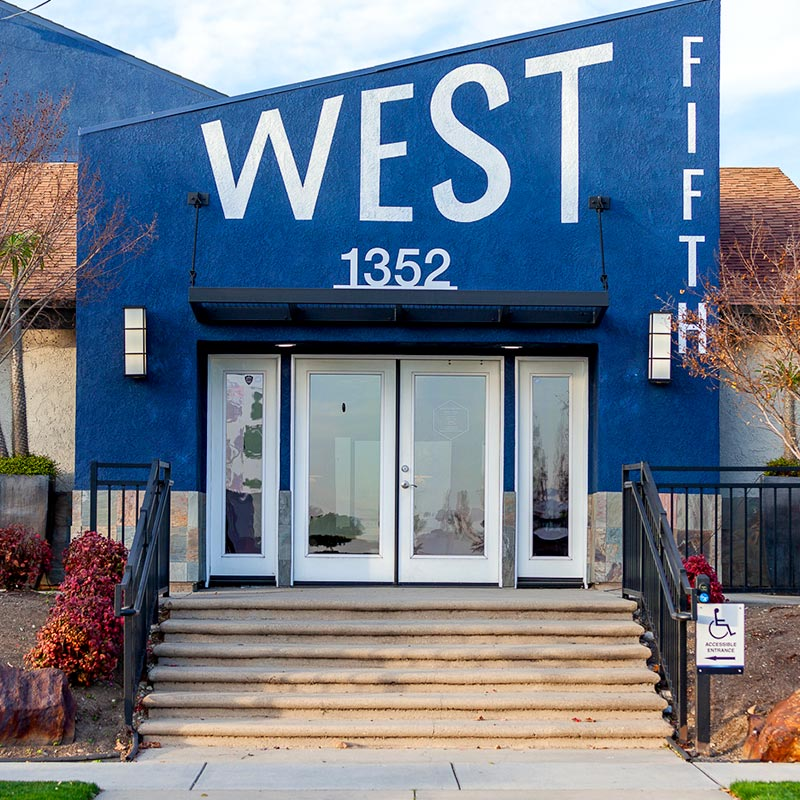 West Fifth front entrance